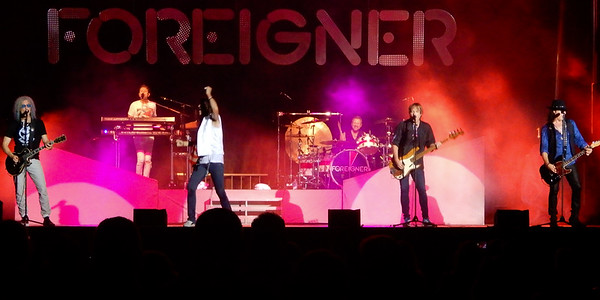 August 20, 2019. Foreigner at Wellington ! Again.