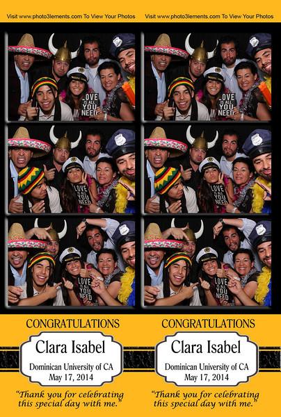 Clara Isabel's Grad Party
