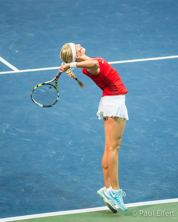 Eugenie Bouchard - Fed Cup Tennis 2014