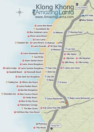 Klong Khong Maps