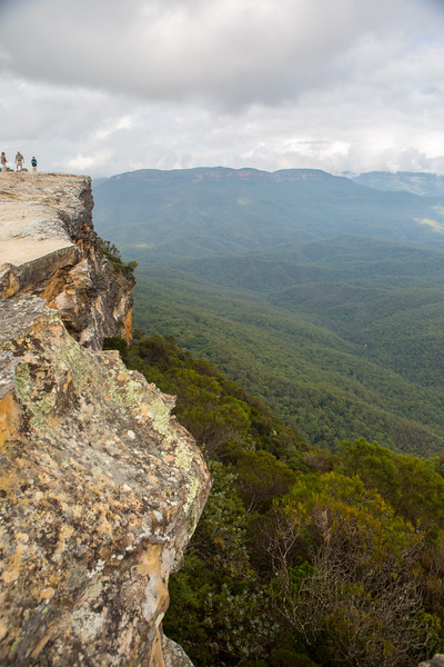 Scenic View of the Blue Mountains