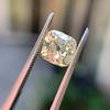 2.10ct Light Yellow Antique Peruzzi Cut Diamond, GIA W-X SI2 14