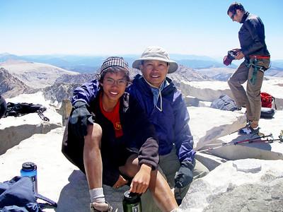 8/19/2010 - Mt. Whitney Hike Day 6 : @ Peak