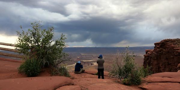 Canyonlands storm watch