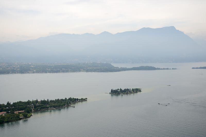 Lake Garda - Rocca Di Manerba, Manerba del Garda, Brescia, Italy - June 29, 2013