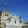 Church opposite Palace Madrid