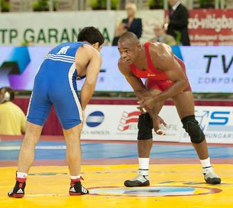 74 kg/163 lbs. - Joe Williams (Ames, Iowa/Sunkist Kids), 3rd place def. Kunihiko Obata of Japan, 2-0, 4-0 def. Ahmet Gulhan of Turkey, 1-0, 1-0 def. Soslan Tigiev of Uzbekistan, 0-1, 1-0, 1-0 lost to Arpad Ritter of Hungary, 1-0, 1-0 Bronze Medal Match -