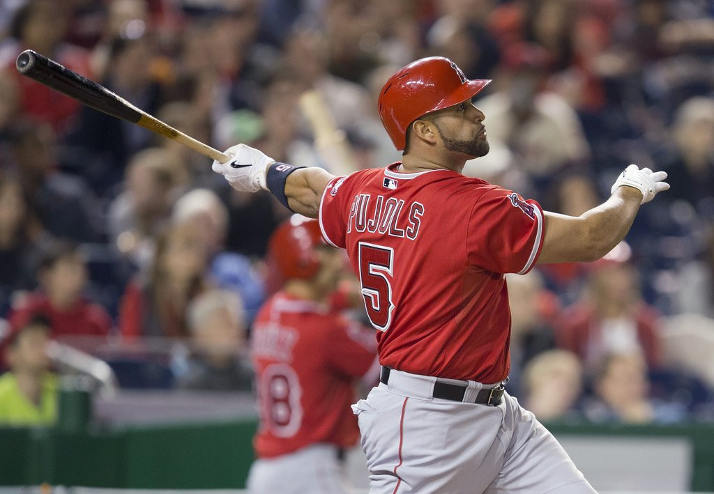 ". <p>8. ALBERT PUJOLS <p>Remember back in olden times when people actually gave a rip about 500 homers? (unranked) <p><b><a href=\'http://www.twincities.com/sports/ci_25617218/albert-pujols-hits-500th-hr-major-league-career\' target=""_blank\""> LINK </a></b> <p>    (AP Photo/Pablo Martinez Monsivais)"