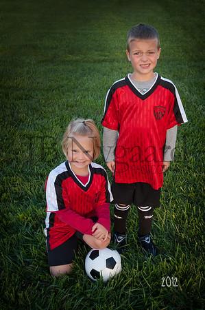 Bluffton Sting U-8 Fall Soccer 2012