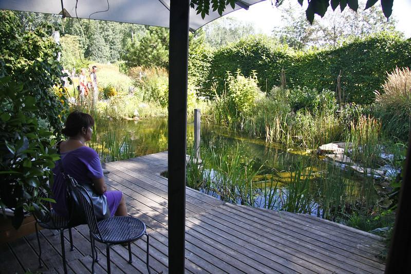 beautiful gardens of Tulln near Klosterneuburg