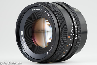 Carl Zeiss Planar 50mm 1:1.7