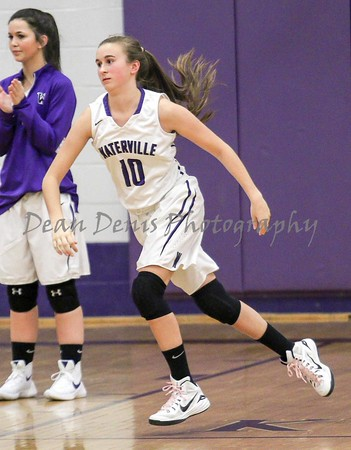 Waterville Girls Varsity Basketball Vs Winslow 12-22-2015