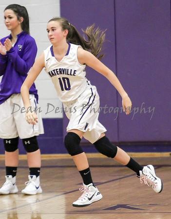 Waterville Girls Varsity Basketball Vs Winslow 12-22-2015