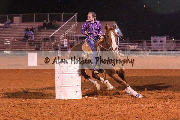 Friday - Jr High - Barrel Racing