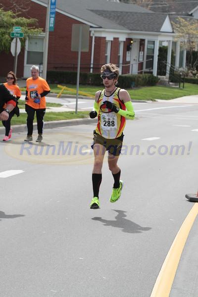 Half & Full Marathon near finish - 2016 Let's Move