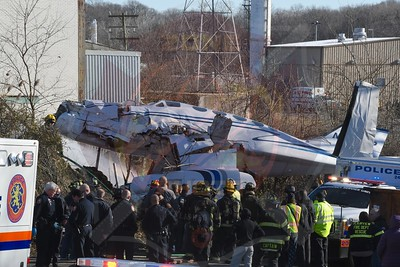 Plainview F.D. Plane Down at TOB Solid Waste Disposal Plant 1/10/21