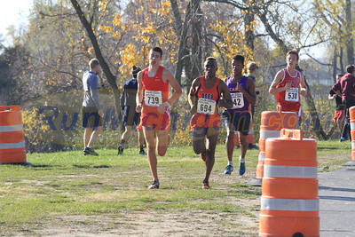 1.2 Mile Mark, D3 BOYS - 2016 MHSAA LP XC FINALS