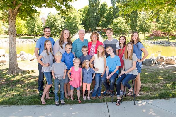 Muhlestein Family 2017