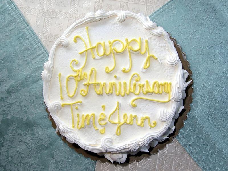 Tim & Jenn were married April 4th, 1995.