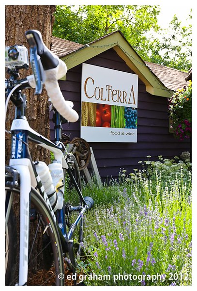 Colterra is a yearly sponsor and caterer. Yum!