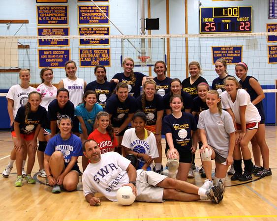 2012 Girls High School Volleyball