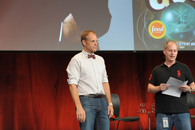 Alton Brown at Google Oct 2011