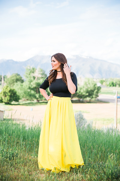Yellow Skirt summer