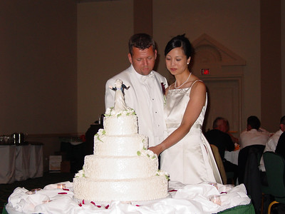 Kris and Jeff Tie the Knot (June 26, 2004)