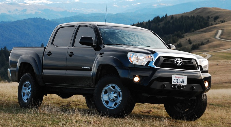 2014 Toyota Tacoma TX Baja modifications