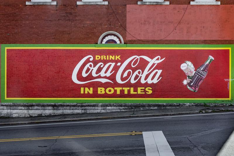 GA, Jasper - Coca-Cola Wall Sign 04