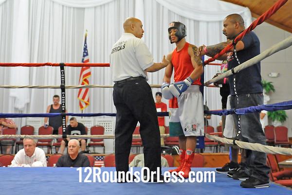 "Bout 10=Main Event Jon JBeast"" Bullock, Youngstown -vs- Jose Rodriguez, Tallmadge, 165 lbs"