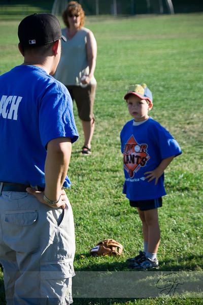 2008-07-03 Junior Giants Blue Practice