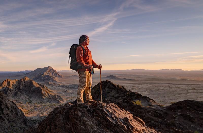 (2017-January 9-10) Mohawk Mountain and Signal Peak, Arizona.