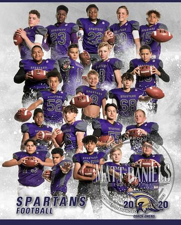 2020 Spartans Football