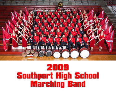 2009 SHS Band Group Photo