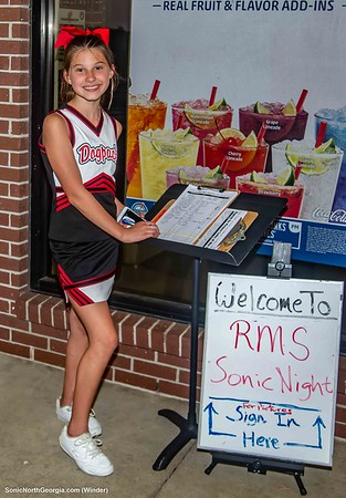 Russell Middle School Sonic Spirit Night Sept 2019