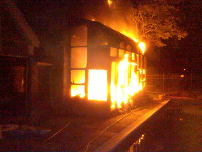 Wedgewood Lane House Fire 9/22/11