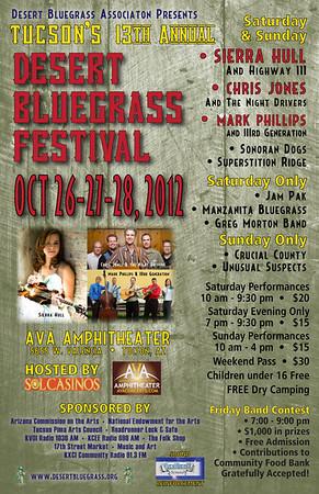 2012 Tucson Bluegrass Festival