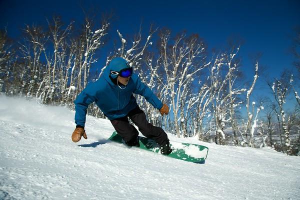 Shoji-san Hanazono Snowboard Shot