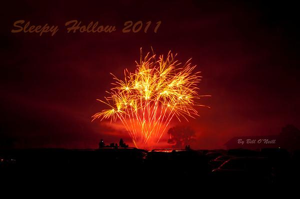Sleepy Hollow Fireworks - July 4th 2011