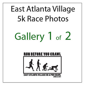 East Atl. Village 5k & Pub Crawl {FIRST 32 MINS of Race} (Part 1 of 2)