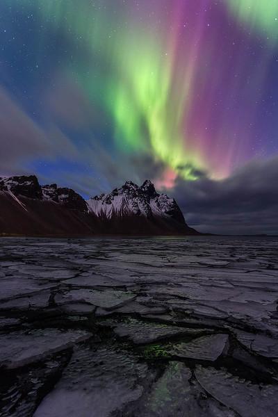 Vesturhorn Aurora