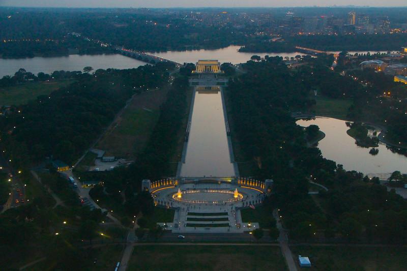Washington Monument Sunset  607