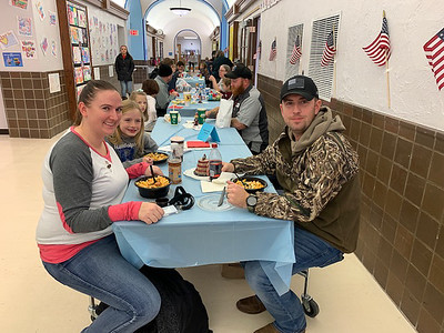 Veterans Lunch at Randolph Elementary