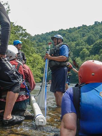 2014-07-12,13 Swiftwater Rescue Class, Strainer Swim