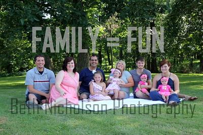 Proffitt Family 2014