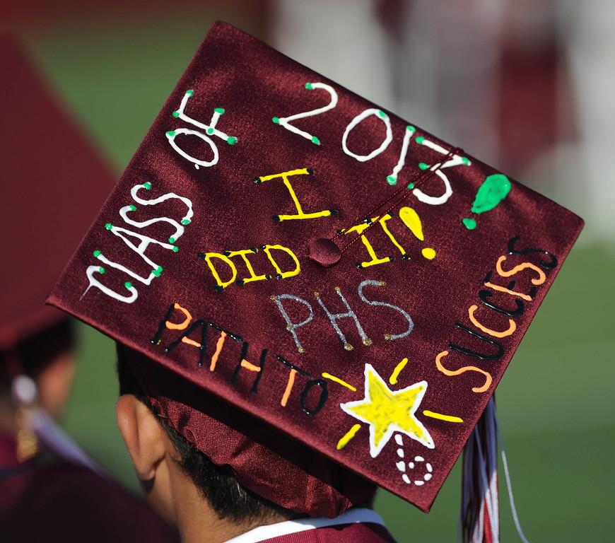 . The Paramount High School 2013 graduation June 13.  ( Photo by Sean Hiller/Press Telegram)