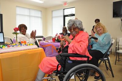 99th Birthday Celebration for Mrs. Frances Jones May 1, 2016