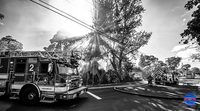 Structure Fire - 81 Jarvis Rd, Manchester, CT - 8/20/20