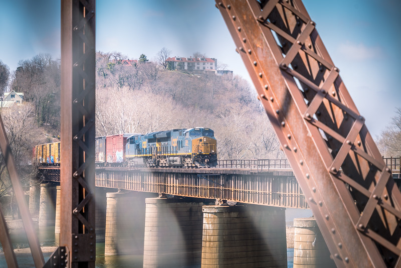 Harper's Ferry WV - CSX Freight Train